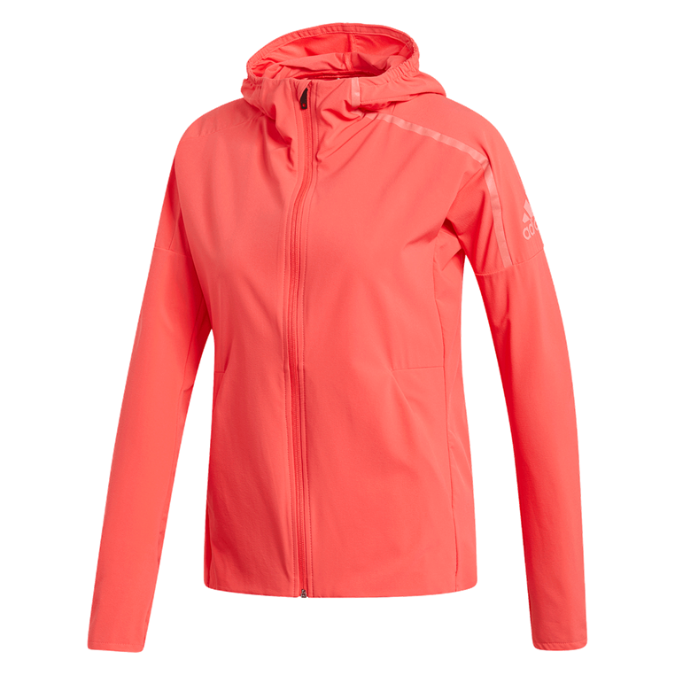 adidas Damen Laufjacke Z.N.E. Run Jacket rot