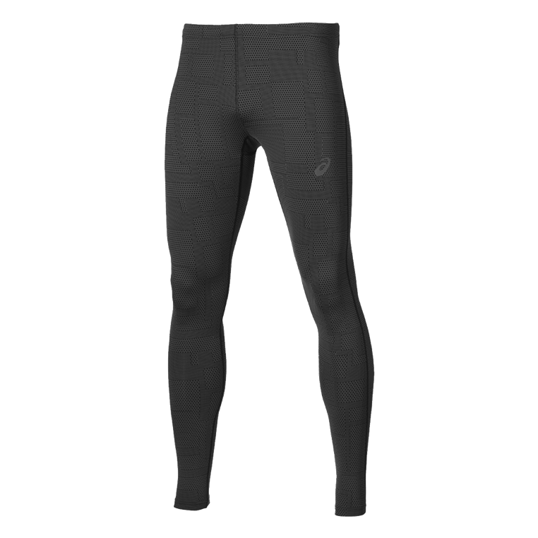 asics Laufhose Graphic 6W Tight Run anthrazit