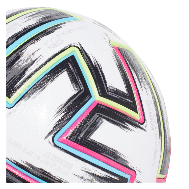 adidas Fußball Euro 2020 Uniforia Pro OMB weiß/hellblau