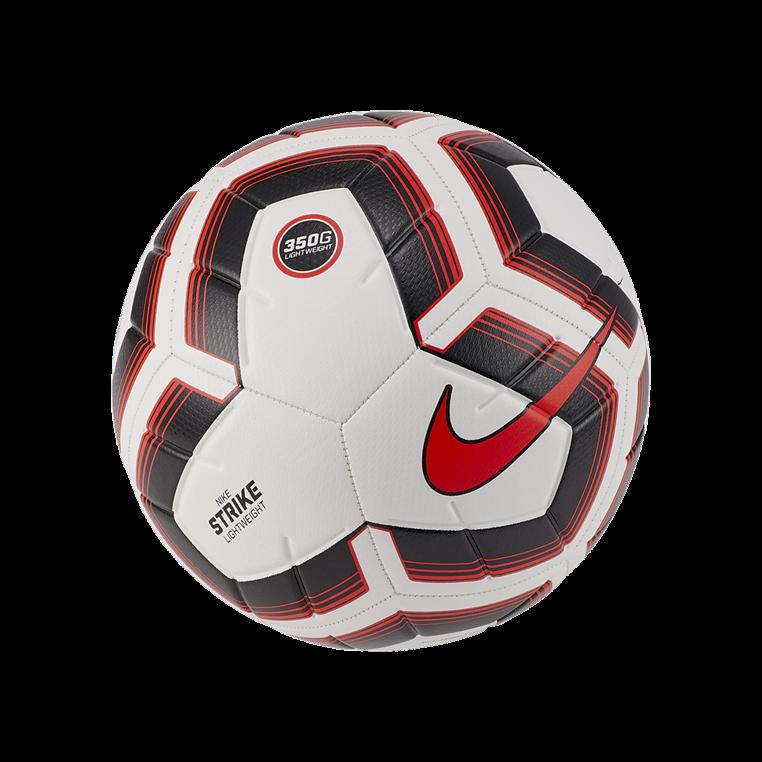 Nike Fußball Strike Team Lightweight 350g Größe 5 weiß/rot