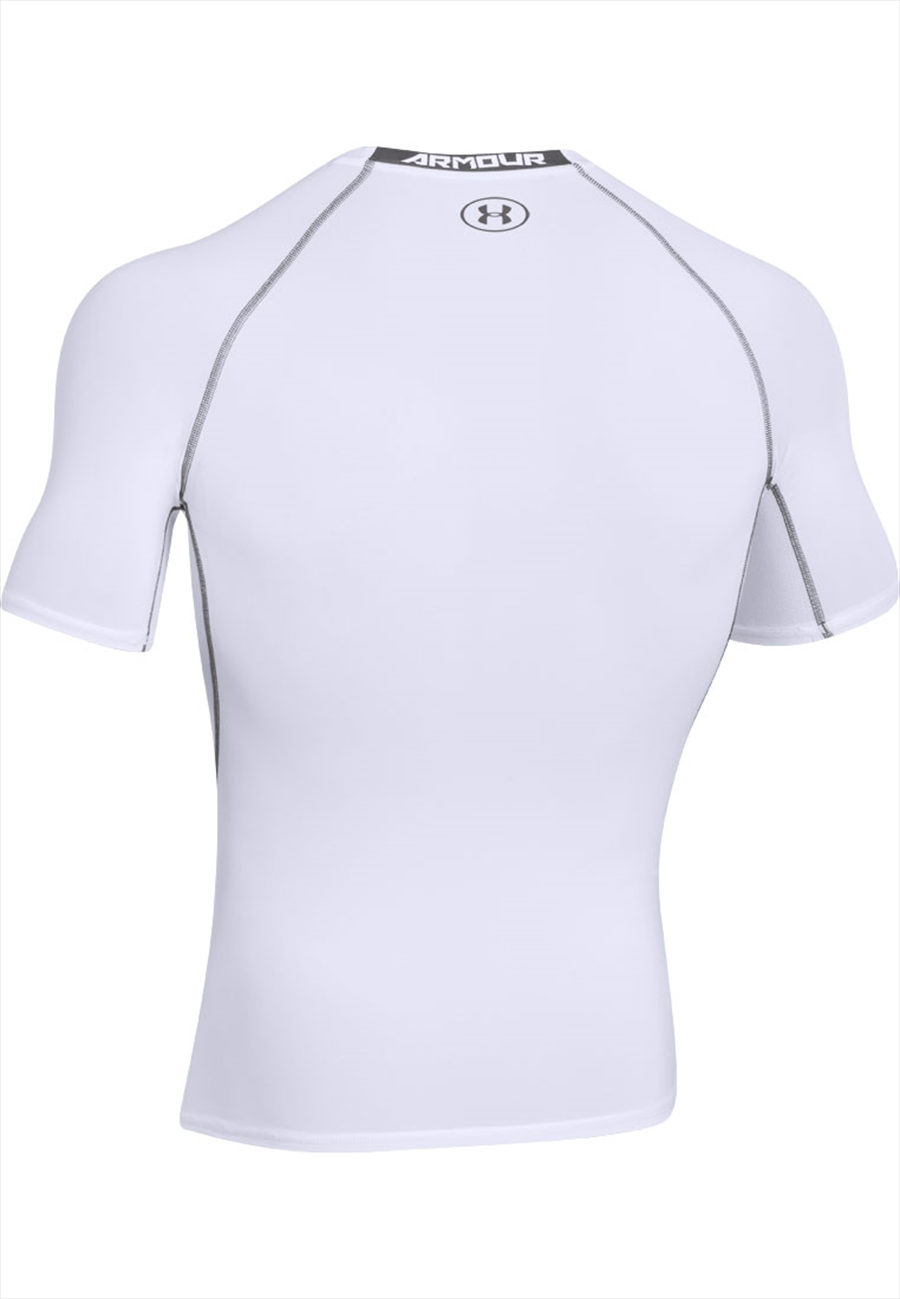 Under Armour Funktionsshirt HeatGear SS Compression Top weiß Bild 3