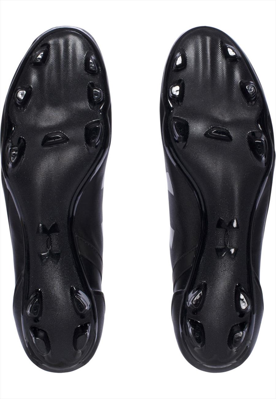 Under Armour Fußballschuh Speedform CRM Leder FG schwarz/weiß Bild 5
