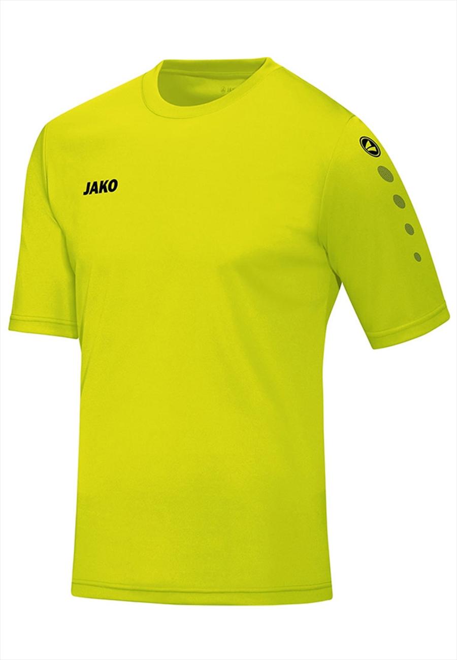 Jako Trikot Team KA gelb fluo/schwarz Bild 2