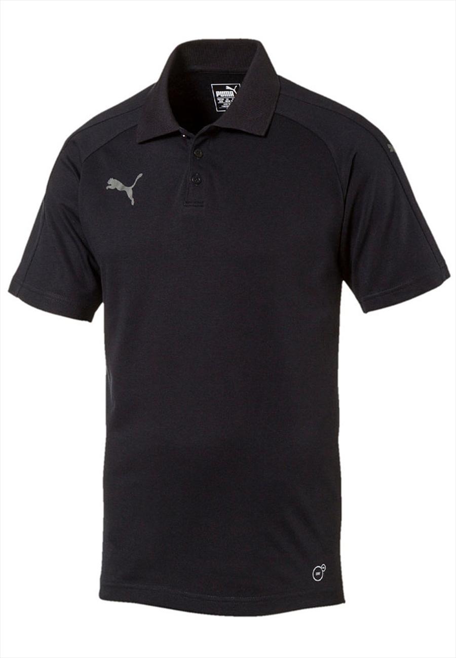 Puma Shirt Ascension Casuals Polo schwarz/grau Bild 2