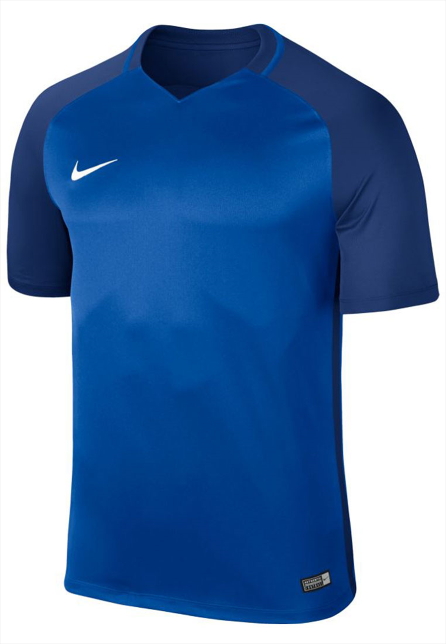 Nike Trikot Dry Trophy III SS Jersey blau/dunkelblau Bild 2