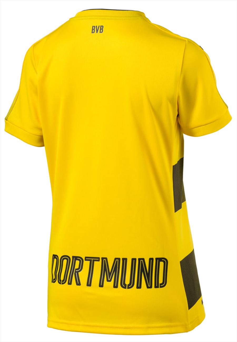 Puma BVB Heim Trikot Damen 2017/18 gelb/schwarz Bild 3