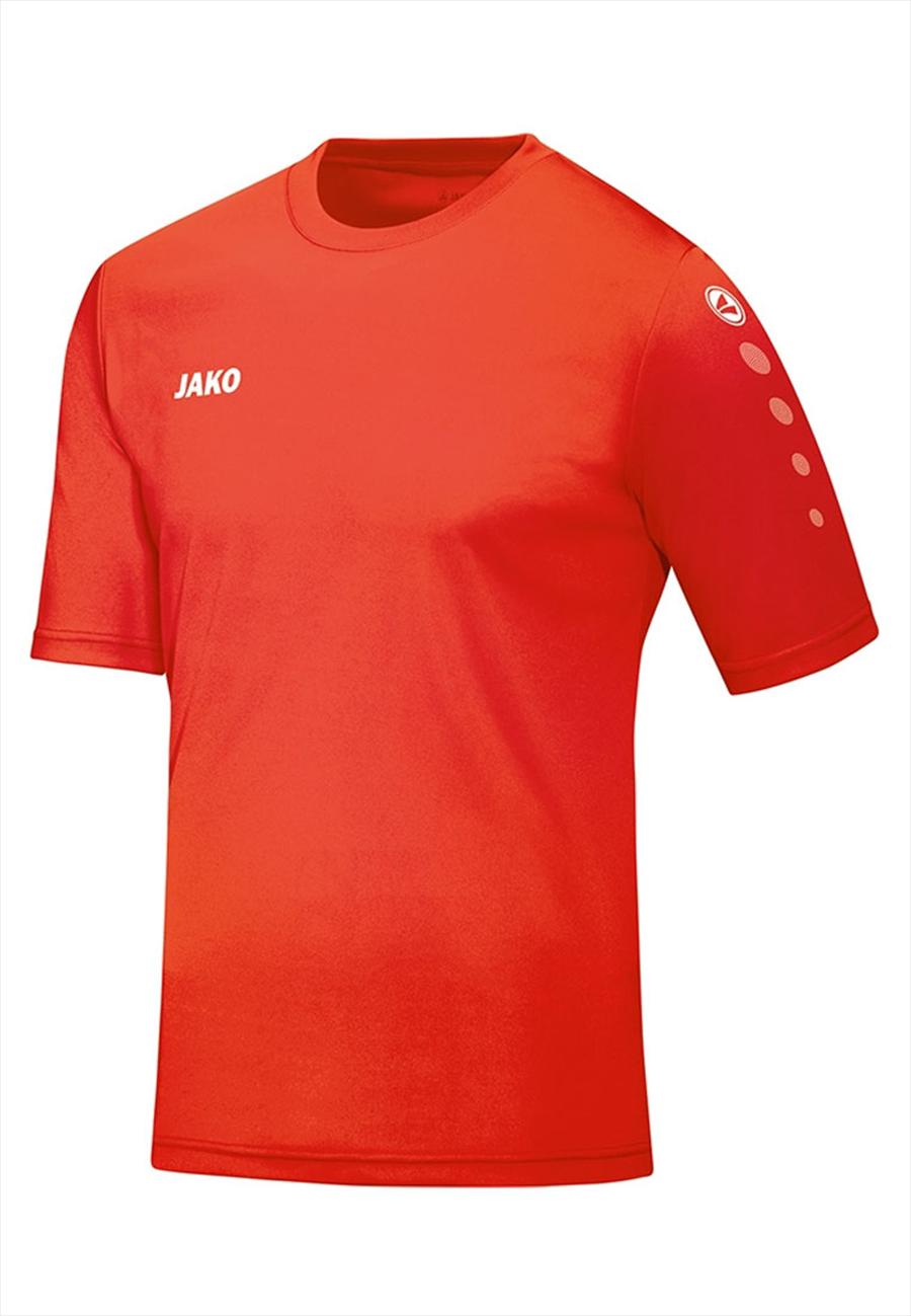 Jako Trikot Team KA rot fluo/weiß Bild 2