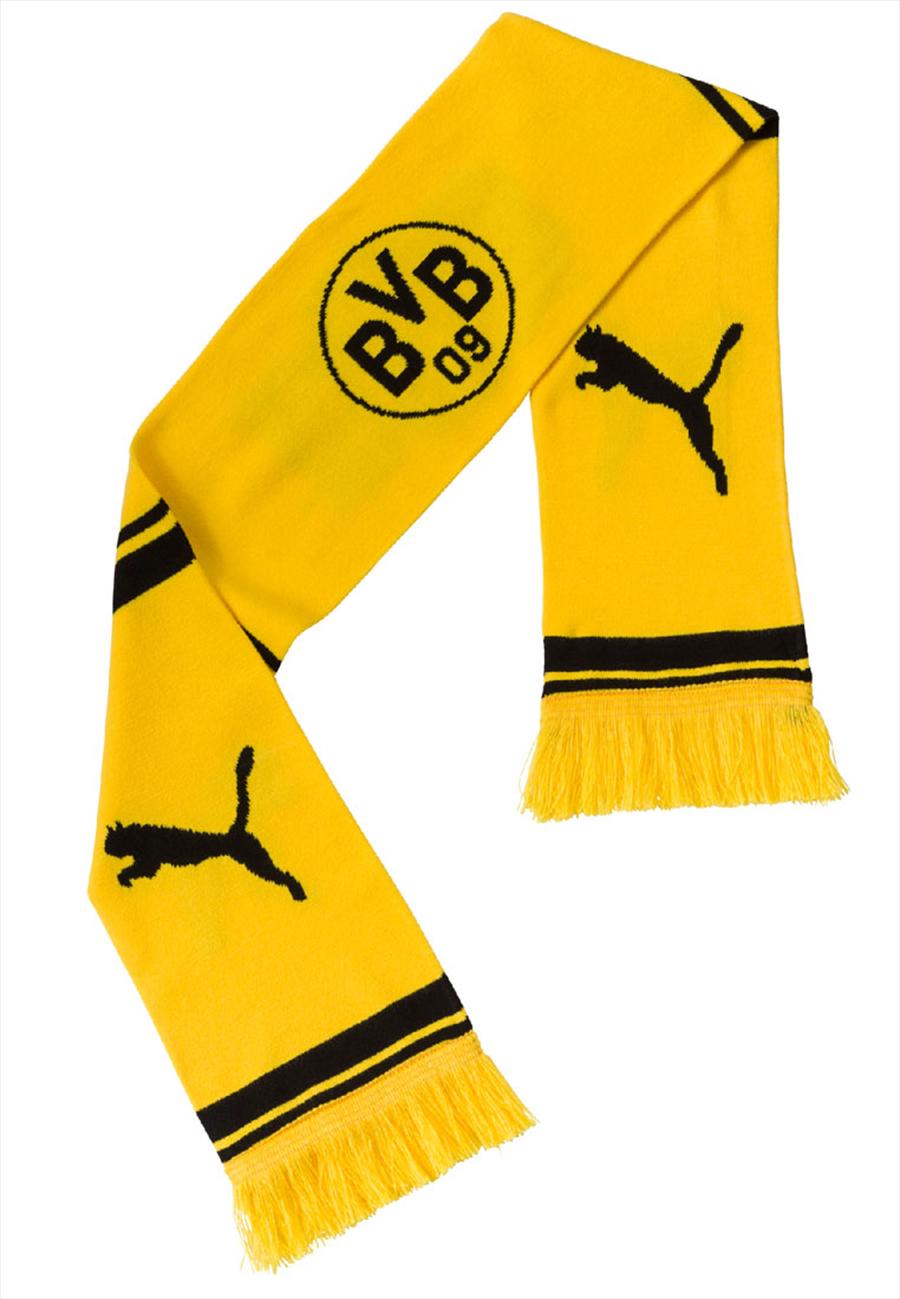 Puma BVB Schal gelb/schwarz Bild 2