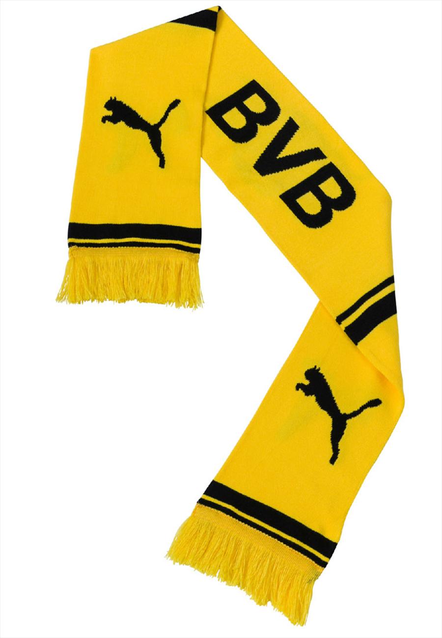 Puma BVB Schal gelb/schwarz Bild 3