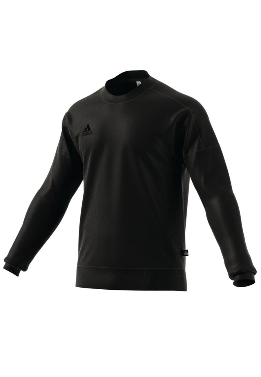 adidas Trainingspullover Tango Sweater Crew schwarz/grau Bild 3