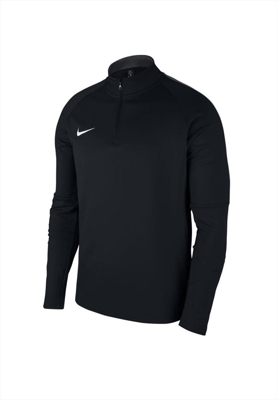 Nike Kinder Trainingsoberteil Academy 18 Drill Top 1/4 Zip LS schwarz/weiß Bild 2