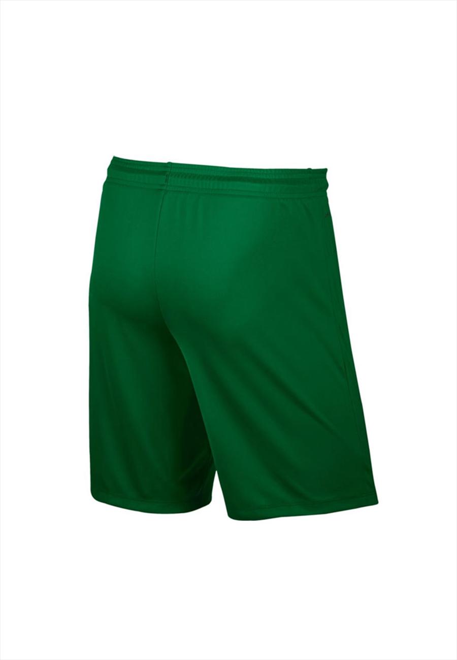 Nike Kinder Short Park II Knit ohne Innenslip grün/weiß Bild 3