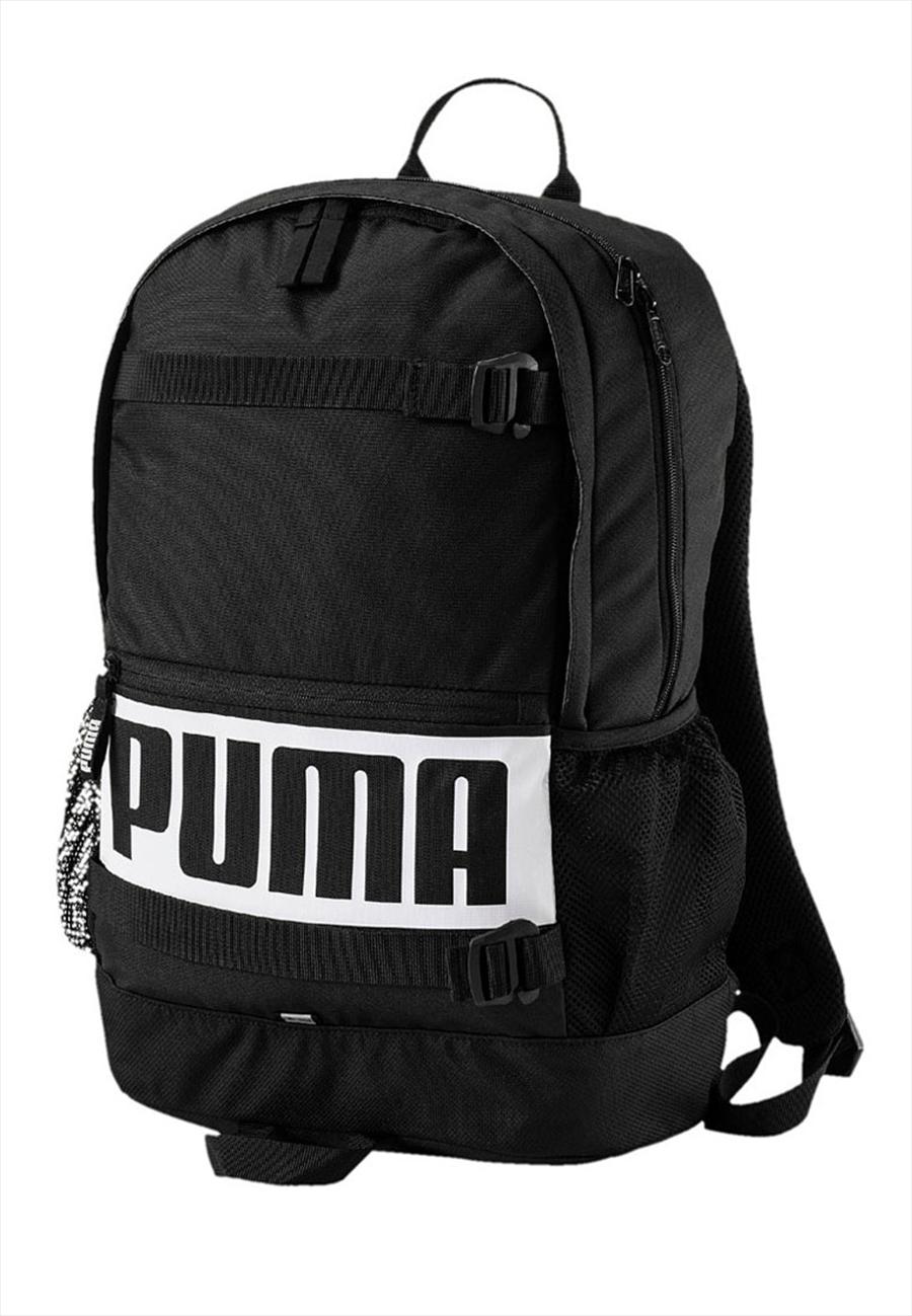 Puma Rucksack Deck schwarz/weiß Bild 2
