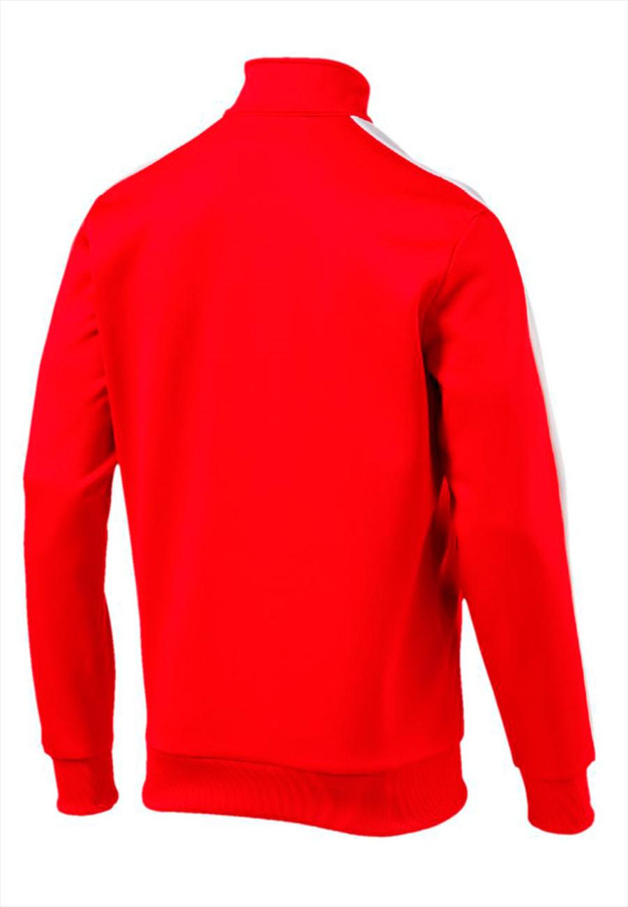 Puma Trainingsjacke Archive T7 Track Jacket rot/weiß Bild 3