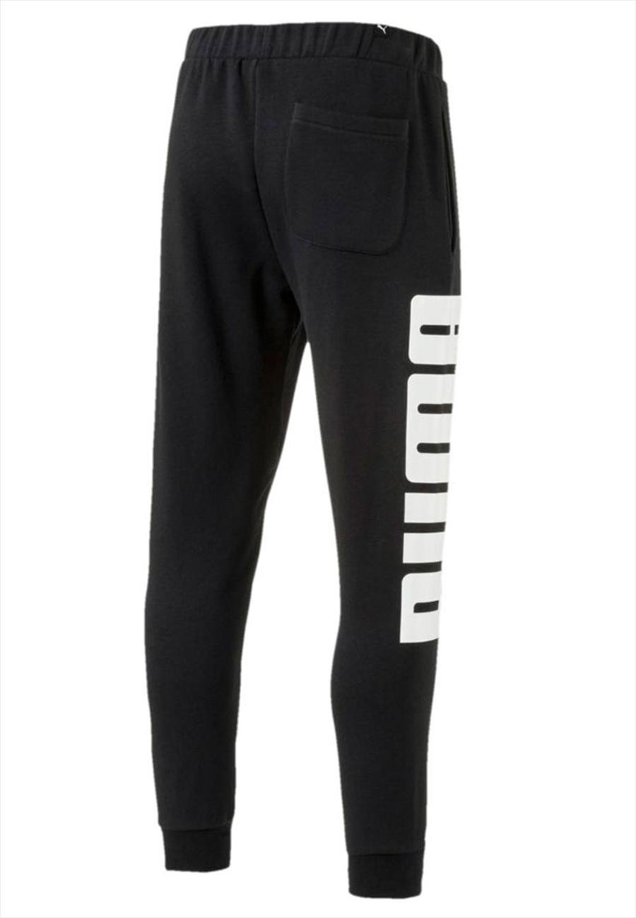 Puma Trainingshose Rebel Sweat Pants TR schwarz/weiß Bild 3
