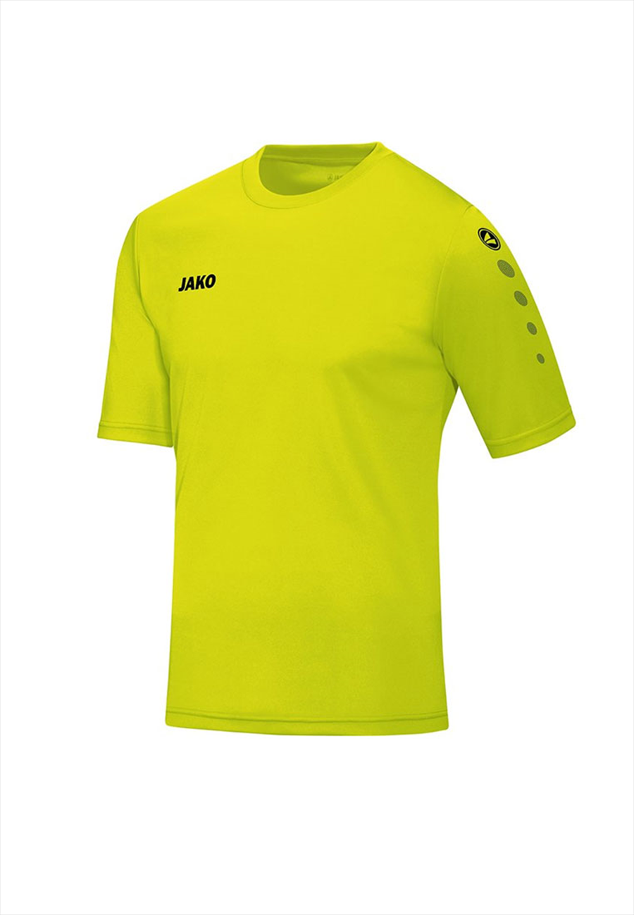 Jako Kinder Trikot Team KA gelb fluo/schwarz Bild 2