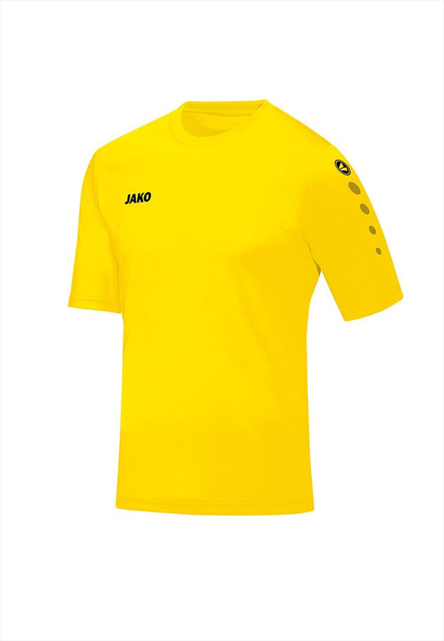 Jako Kinder Trikot Team KA gelb/schwarz Bild 2