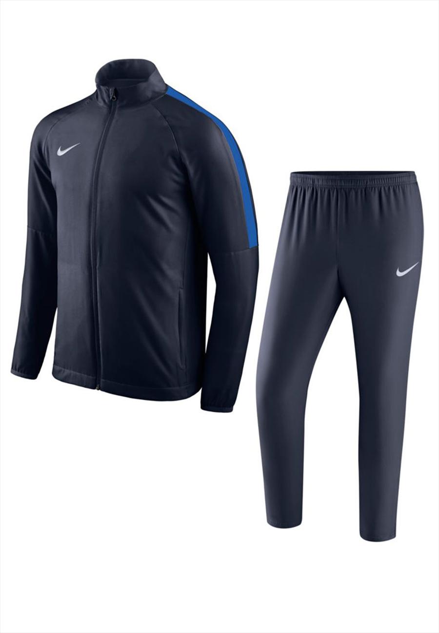 Nike Trainingsanzug Academy 18 Woven Tracksuit dunkelblau Bild 2