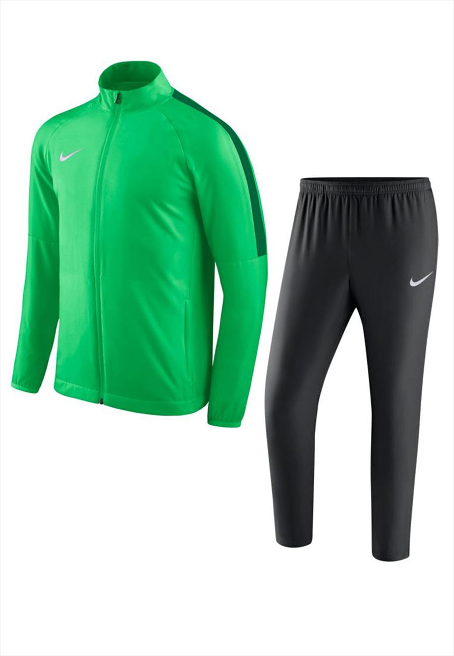 Nike Trainingsanzug Academy 18 Woven Tracksuit grün fluo Bild 2