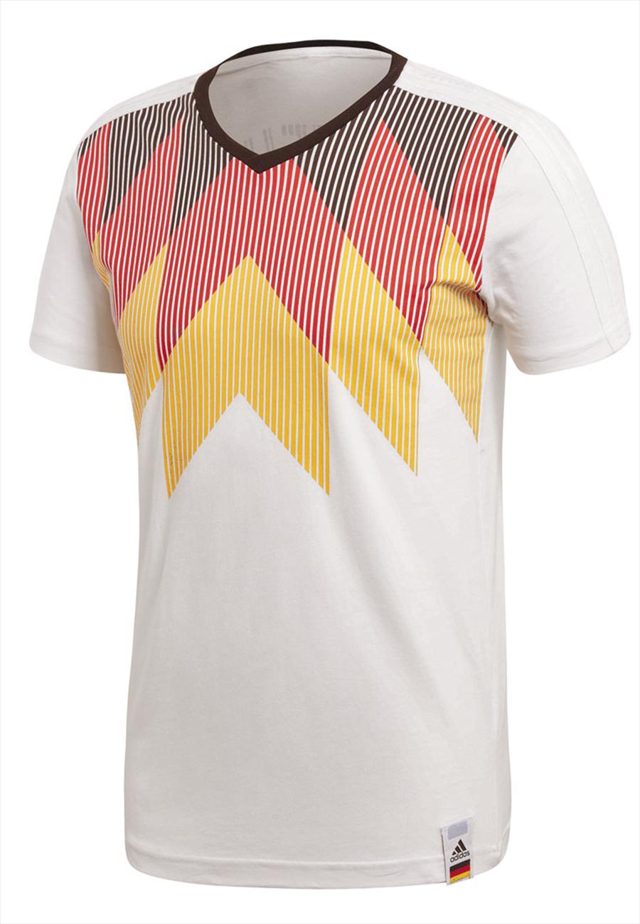 adidas Deutschland Shirt Country Identity Tee weiß/schwarz Bild 2