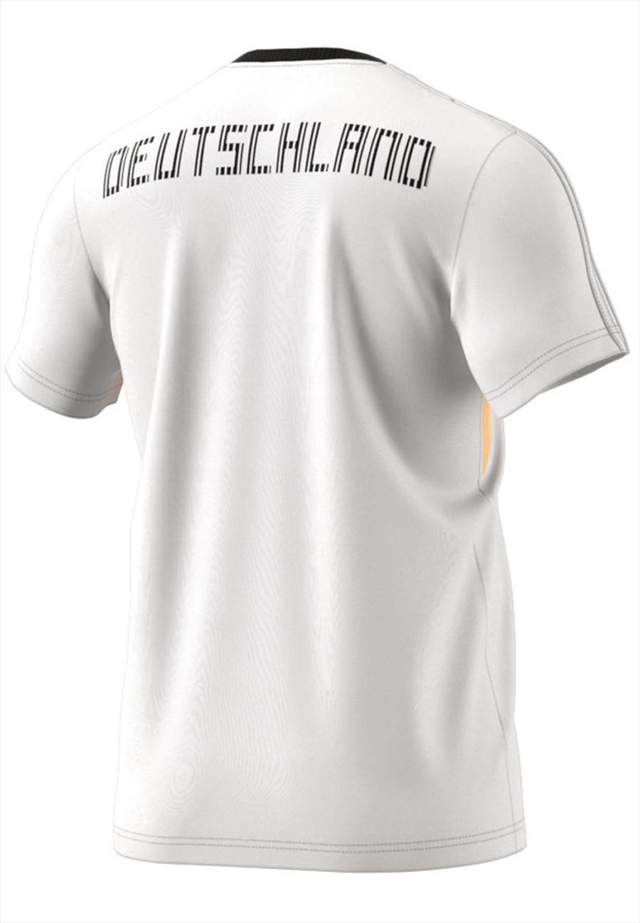 adidas Deutschland Shirt Country Identity Tee weiß/schwarz Bild 3