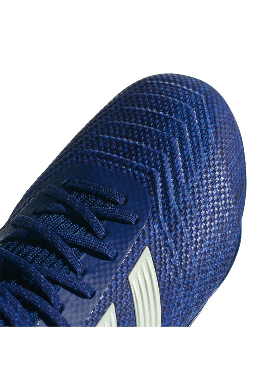 adidas Kinder Fußballschuh Predator 18.1 FG J dunkelblau/türkisblau Bild 7