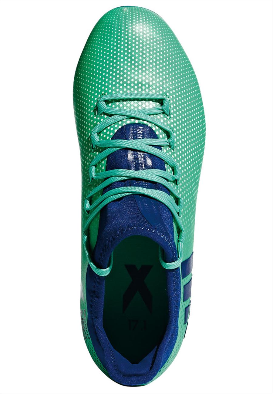 adidas Kinder Fußballschuh X 17.1 FG J türkisblau/dunkelblau Bild 4