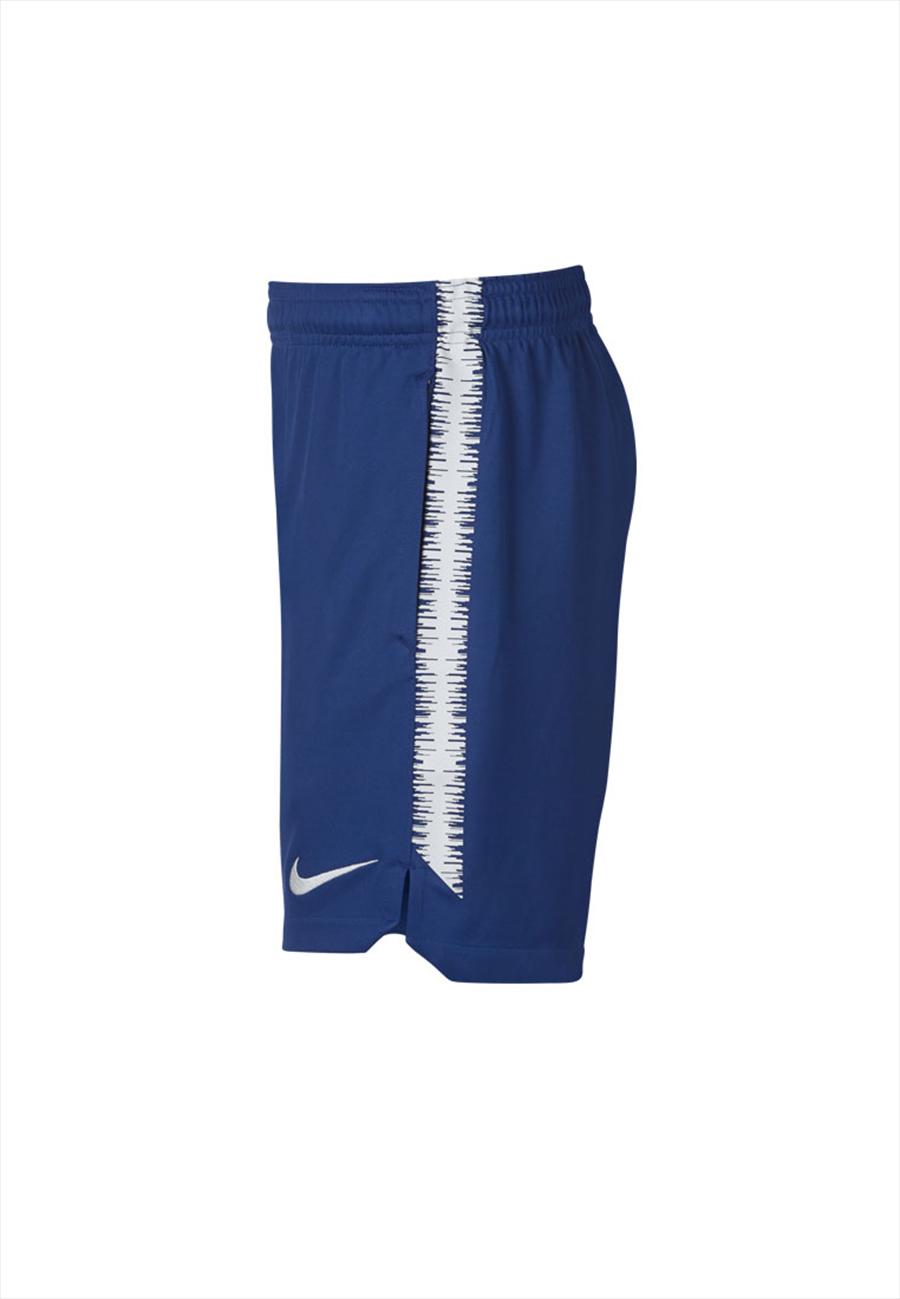Nike Chelsea FC Kinder Trainingsshort Squad blau/weiß Bild 4