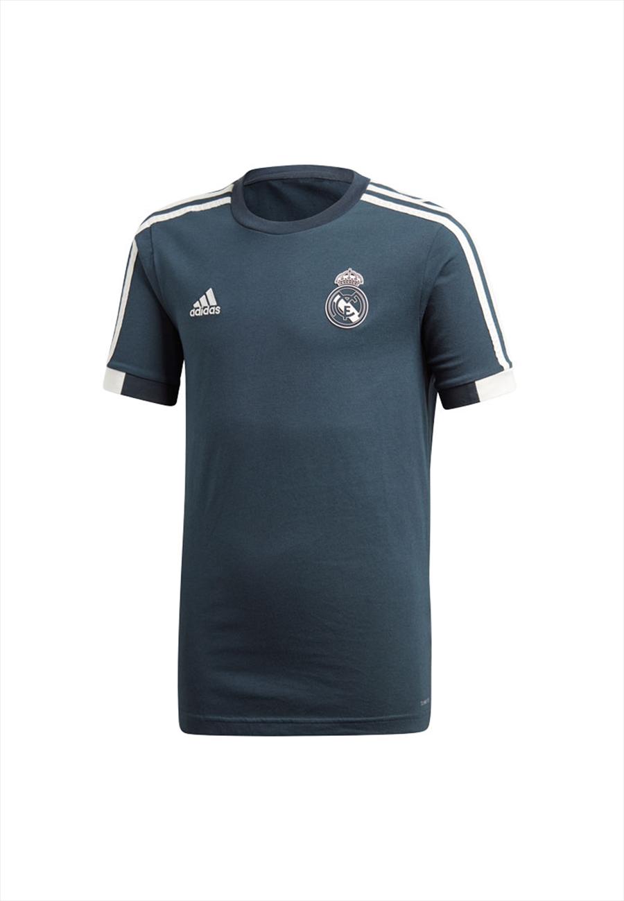 adidas Real Madrid Kinder Fanshirt Tee dunkelblau/weiß Bild 2
