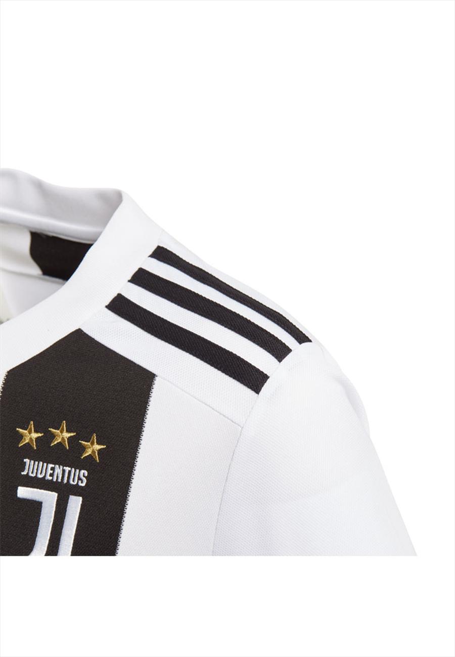 adidas Juventus Turin Herren Heim Trikot 2018/19 schwarz/weiß Bild 5
