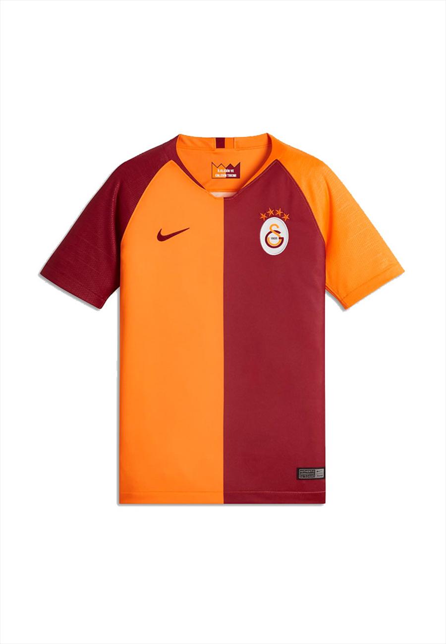 Nike Galatasaray Istanbul Kinder Heim Trikot 2018/19 rot/orange Bild 2