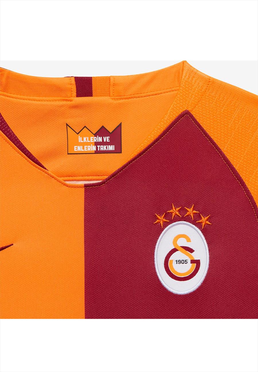 Nike Galatasaray Istanbul Kinder Heim Trikot 2018/19 rot/orange Bild 4