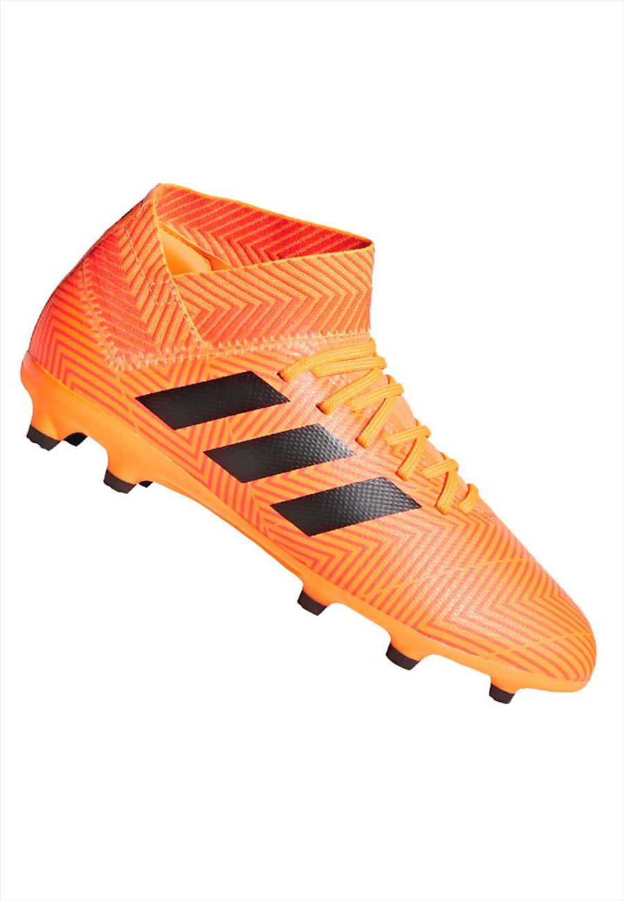 adidas Kinder Fußballschuh Nemeziz 18.3 FG J orange fluo/schwarz Bild 2