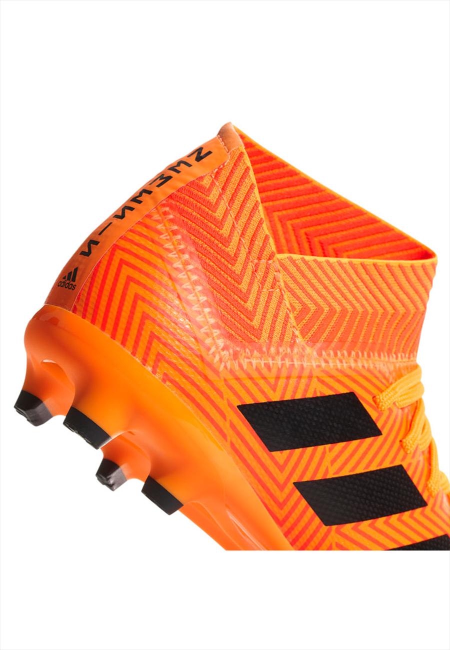 adidas Kinder Fußballschuh Nemeziz 18.3 FG J orange fluo/schwarz Bild 6