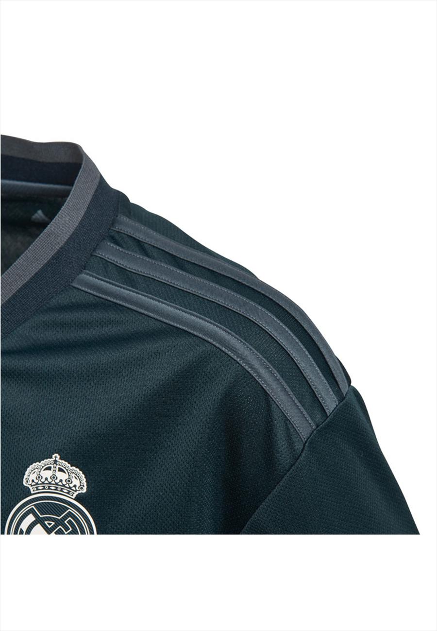adidas Real Madrid Kinder Auswärts Trikot 2018/19 dunkelblau/weiß Bild 5