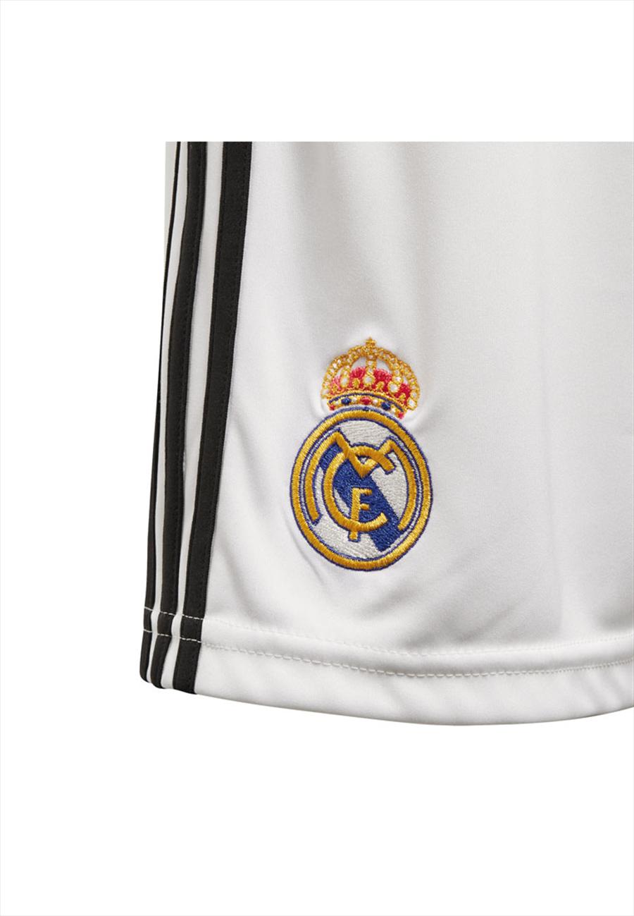 adidas Real Madrid Kinder Heim Short 2018/19 weiß/schwarz Bild 4