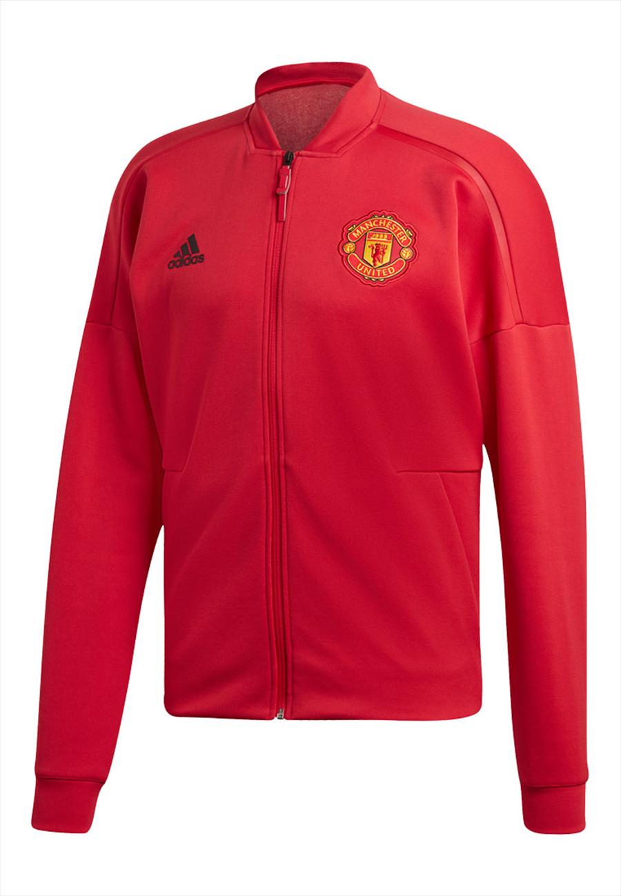 adidas Manchester United Jacke Z.N.E rot/schwarz Bild 2
