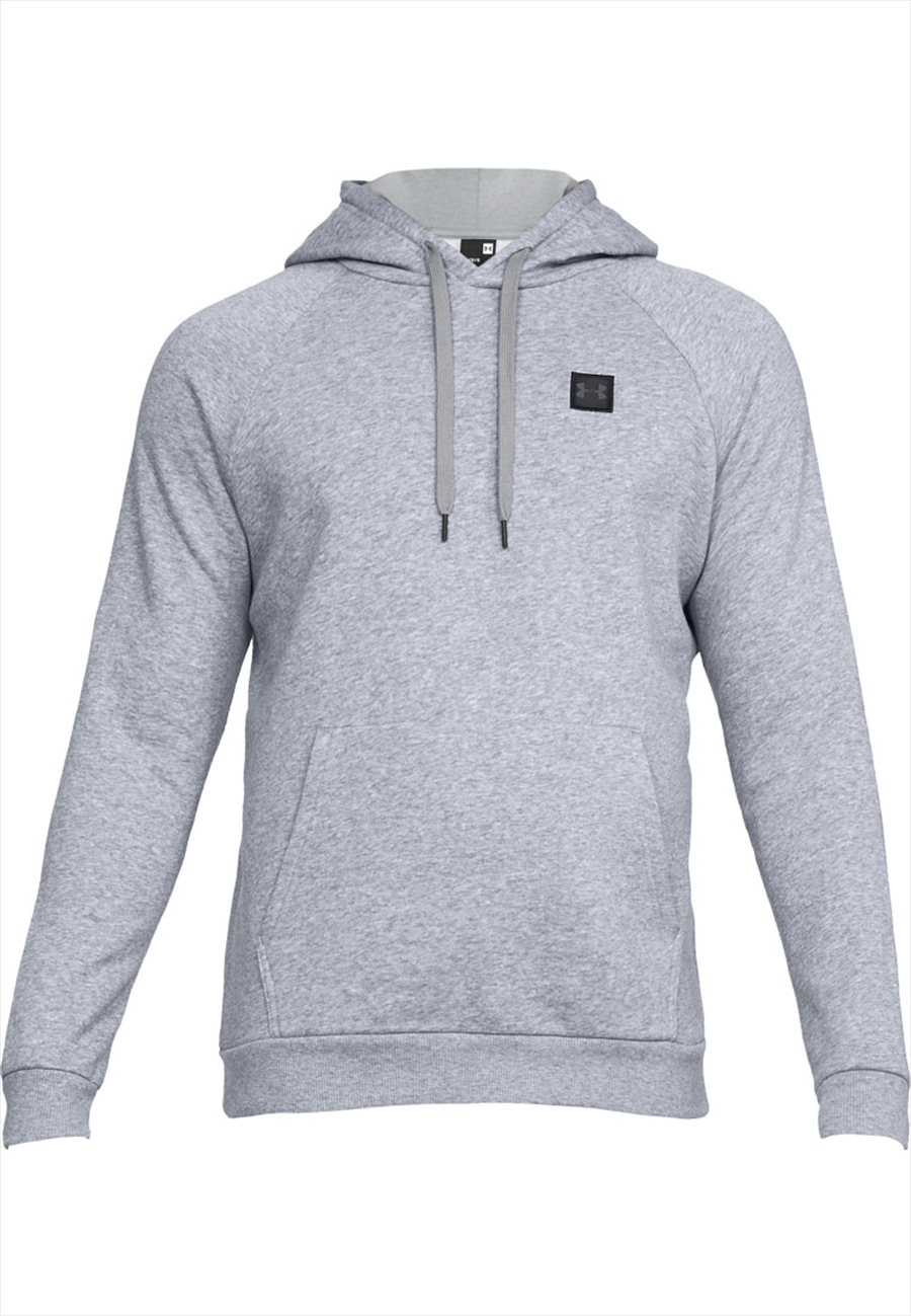 Under Armour Kapuzenpullover Rival Fleece Hoody grau/schwarz Bild 2