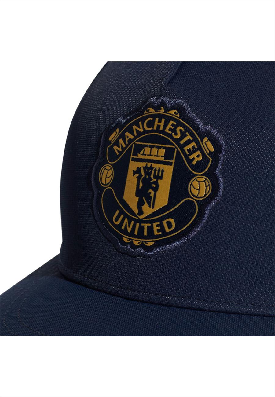 adidas Manchester United Kappe S16 Cap CW dunkelblau/gold Bild 6