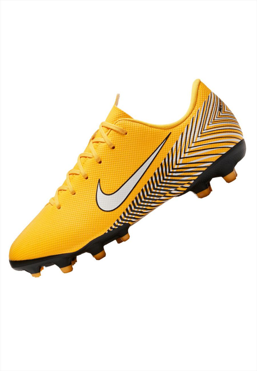 Nike Kinder Fußballschuh Mercurial Vapor XII JR Academy GS Neymar Jr. FG/MG gelb/schwarz Bild 3