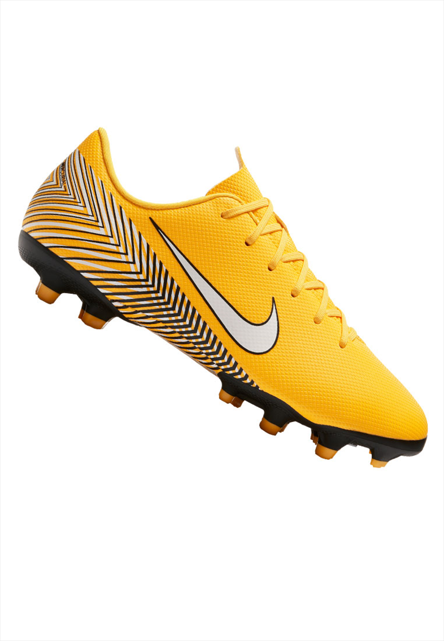 Nike Kinder Fußballschuh Mercurial Vapor XII JR Academy GS Neymar Jr. FG/MG gelb/schwarz Bild 2