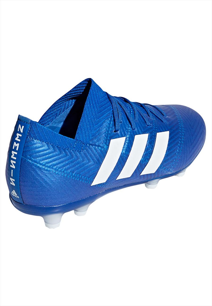 adidas Kinder Fußballschuh Nemeziz 18.1 FG J blau/weiß Bild 6
