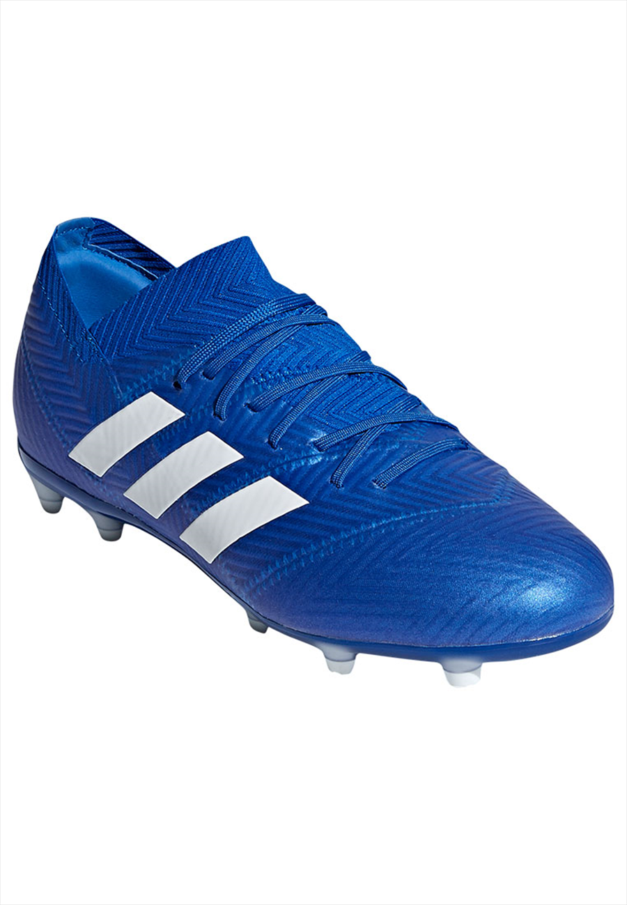 adidas Kinder Fußballschuh Nemeziz 18.1 FG J blau/weiß Bild 9