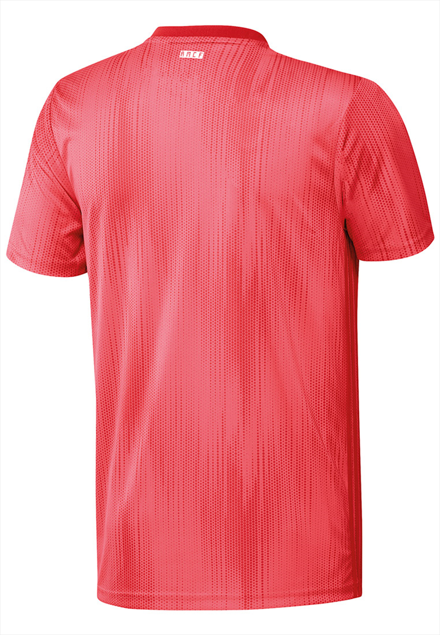 adidas Real Madrid Herren Champions League Trikot 2018/19 coralrot/weiß