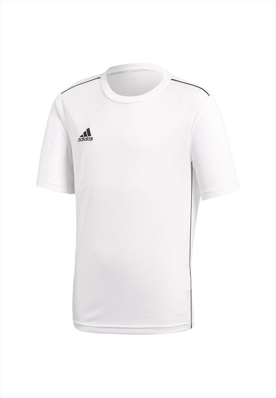 adidas Kinder Shirt Core 18 Training Jersey weiß/schwarz Bild 2