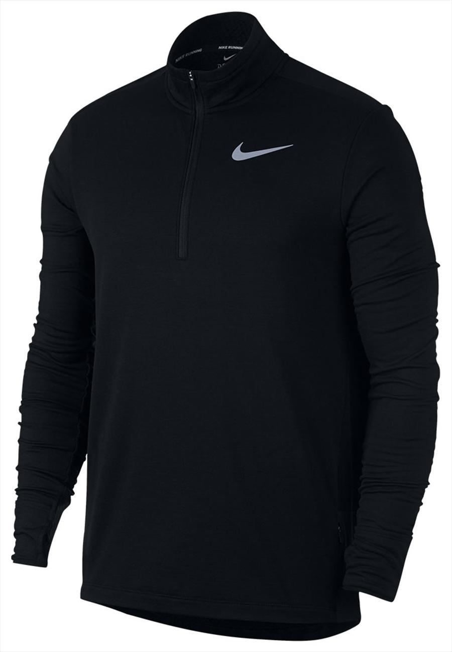 Nike Laufoberteil Sphere Half Zip Top 2.0 schwarz/silber Bild 2