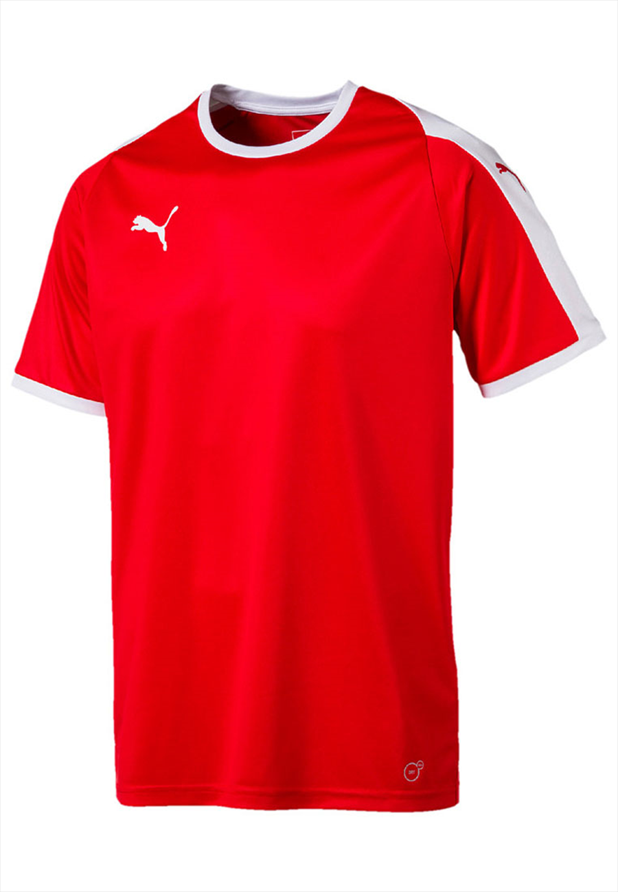Puma Trikot Liga Jersey rot/weiß Bild 2