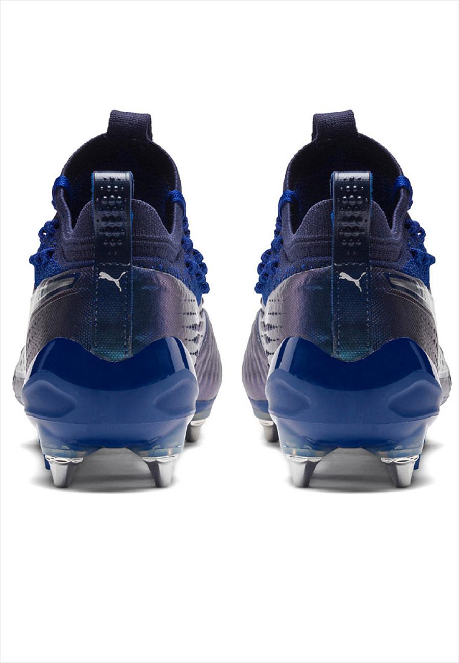 Puma Fußballschuh One 1 LTH MX SG blau/silber Bild 6