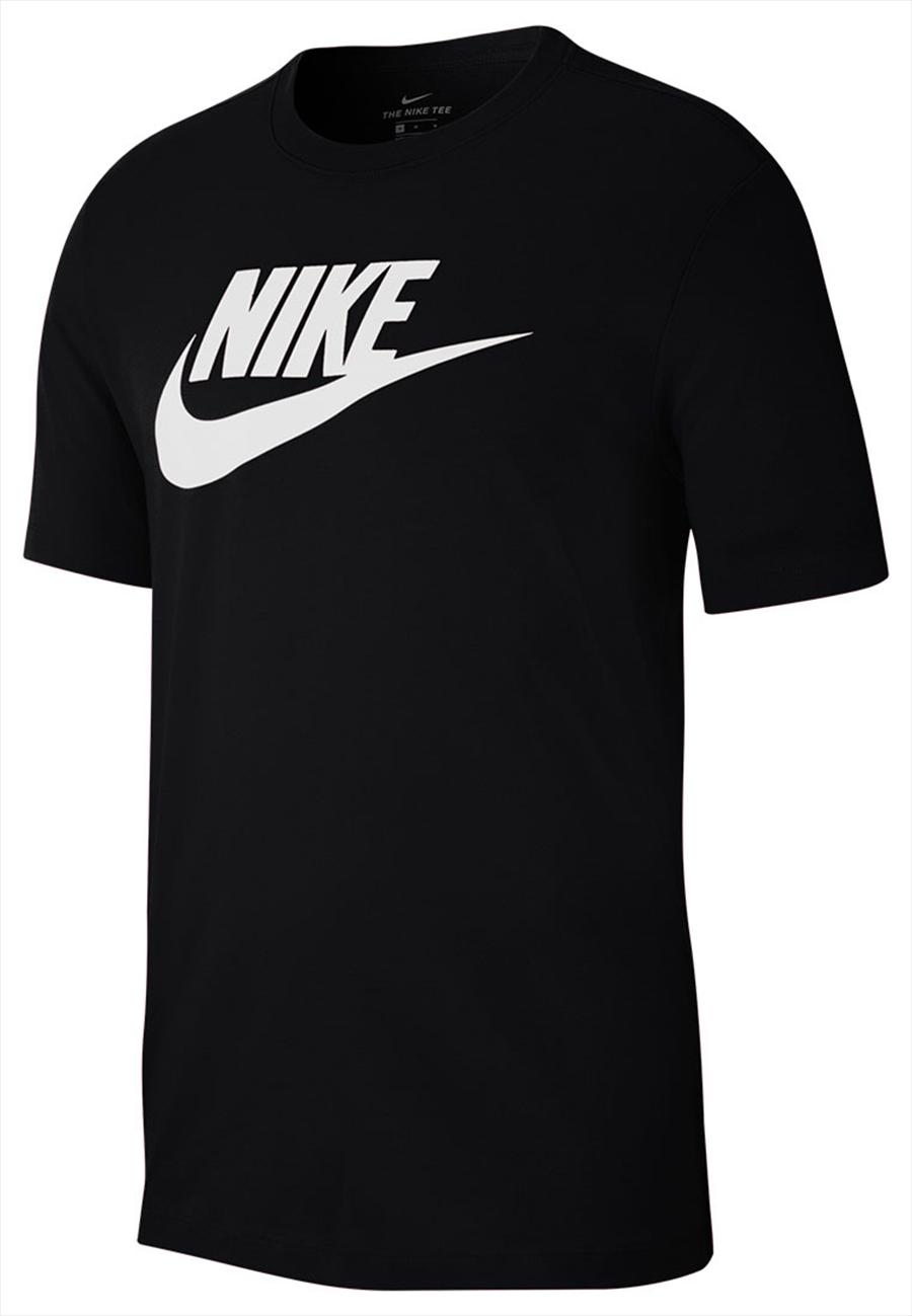"""Nike Shirt Sportswear """"Just do It"""" Tee Icon Futura schwarz/weiß Bild 2"""