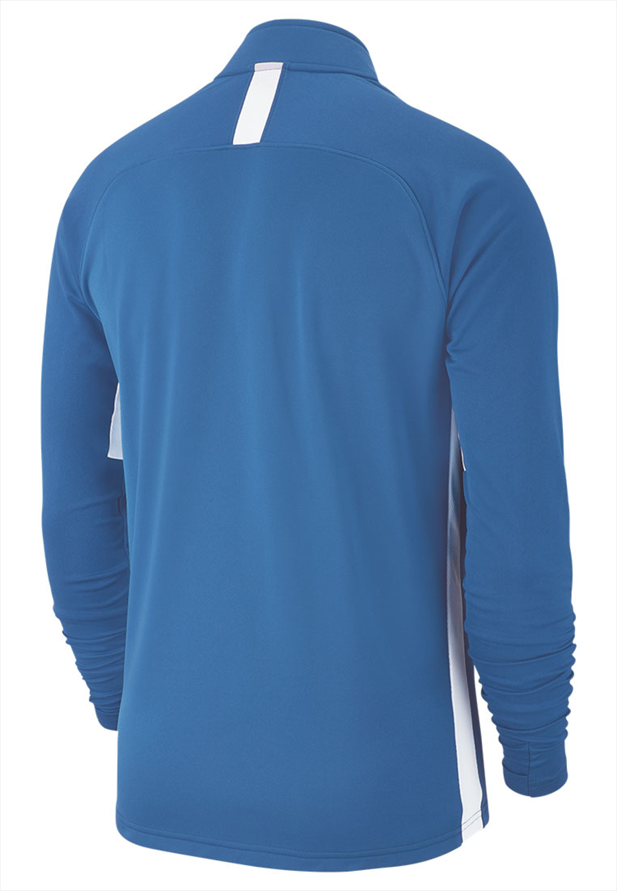 Nike Trainingsoberteil Academy 19 Drill Top 1/4 Zip LS marineblau/weiß Bild 3